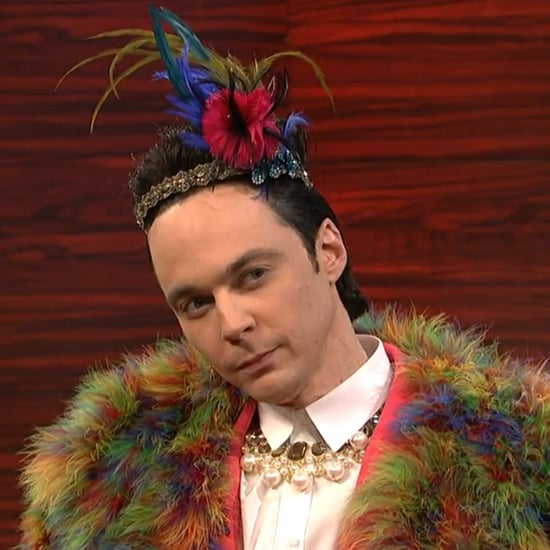 Jim Parsons as Johnny Weir on SNL