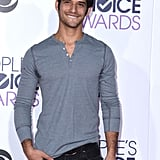 Tyler Posey Looking All Sexy at the People's Choice Awards