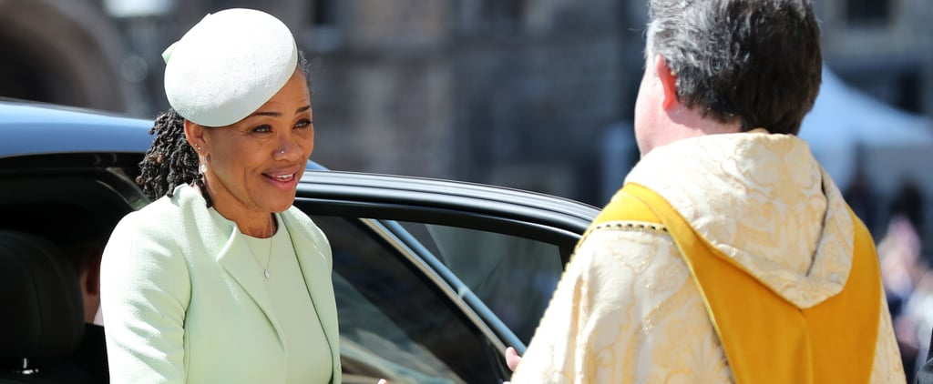 Meghan Markle's Mum's Dress at Royal Wedding 2018