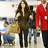 Ashley Greene at LAX.