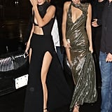 Only Gigi and Kendall could pull these dresses off.