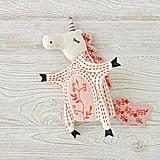 Medieval Unicorn Hand Puppet