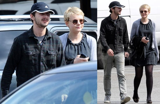 Photos of Shia LaBeouf And Carey Mulligan Together The Day After The Oscars