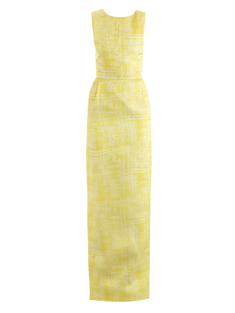 Once Kate's back on the black-tie circuit, we'd adore her in this long column dress ($2,580) by Emilia Wickstead.