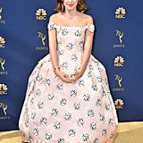 Millie Bobby Brown at the Emmys in 2018