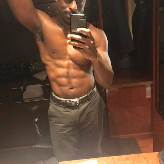Sterling K. Brown Shirtless Instagram Photo March 2017