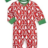 Offspring 'Holiday Damask' One-Piece & Hat