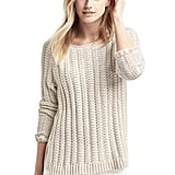 Gap Chunky Open-Neck Sweater