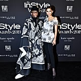 Law Roach and Zendaya at the InStyle Awards 2019