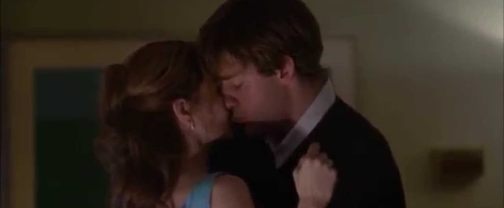 When Was Jim and Pam's First Kiss on The Office?
