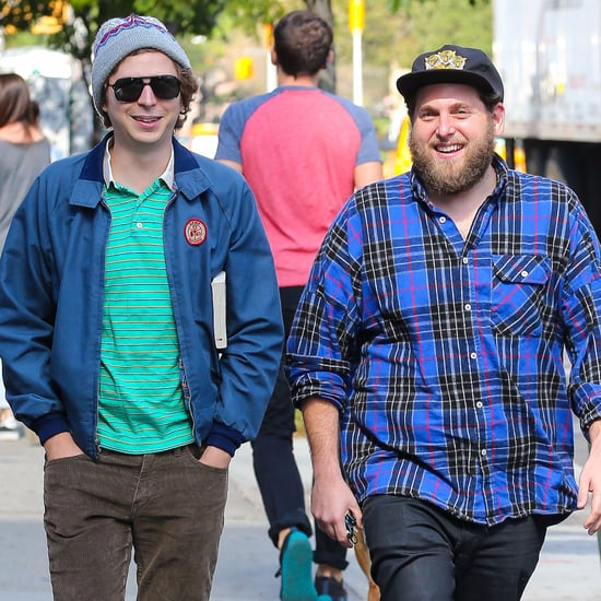 Jonah Hill and Michael Cera Out in NYC September 2016