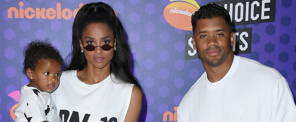Ciara and Her Family at the 2018 Kids' Choice Sports Awards