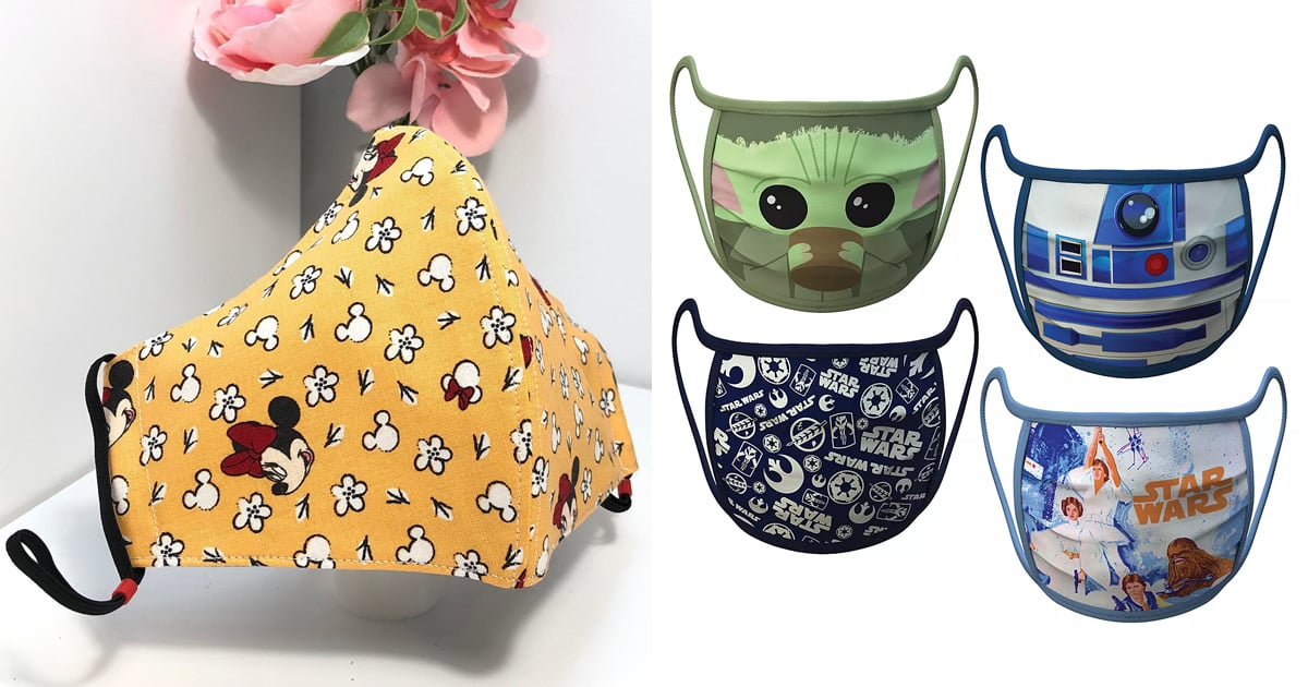 From Star Wars to Princesses, 30 Face Masks For Adult Disney Fans