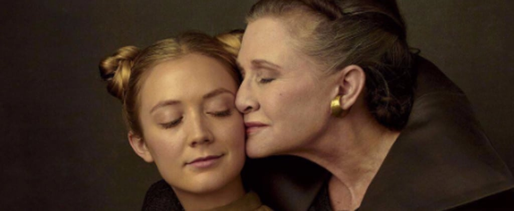 Carrie Fisher Took a Beautiful Photo With Billie Lourd a Few Months Before Her Death