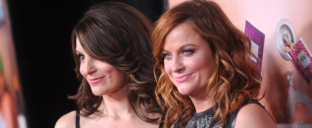 Tina Fey and Amy Poehler at Sisters Premiere in NYC 2015