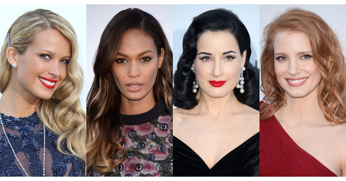 Celebrity Beauty At The Amfar Gala In Cannes Zoom In