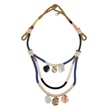 Opal embellished climbing rope necklace, approx $612, Proenza Schouler at Net-a-Porter