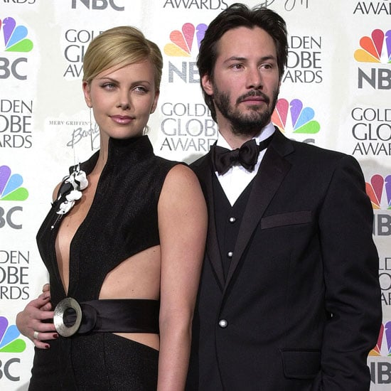 Charlize Theron and Keanu Reeves posed backstage together ...