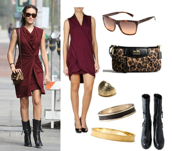 Pictures of Emmy Rossum LA Street Style