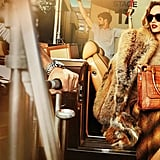 From large sunglasses to fur coats and croc purses, Michael Kors channels Hollywood glamour in his Fall '12 campaign featuring model Karmen Pedaru.