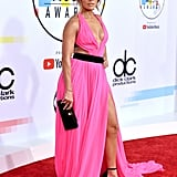 It seems ankle-strap platform heels are a go-to style for Jennifer, because she wore them again to the 2018 American Music Awards.