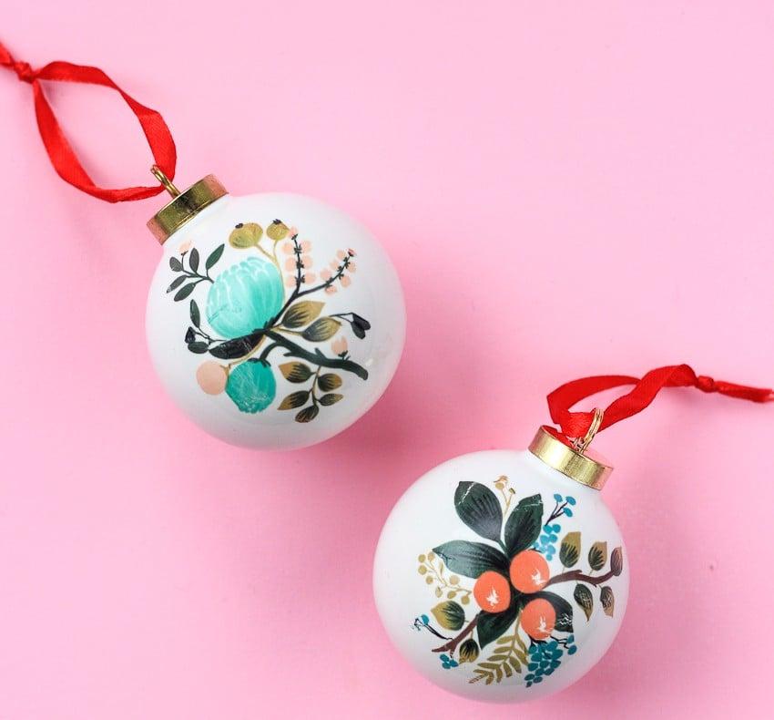 DIY Christmas Ornaments For Kids | POPSUGAR Moms
