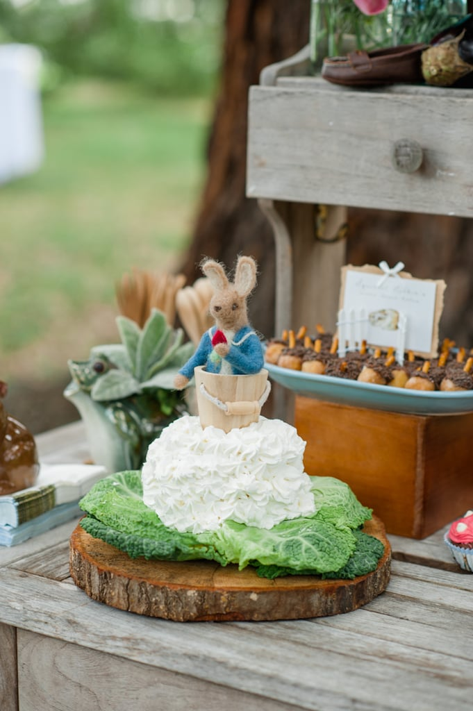 Peter Rabbit Cake Peter Rabbit First Birthday Party