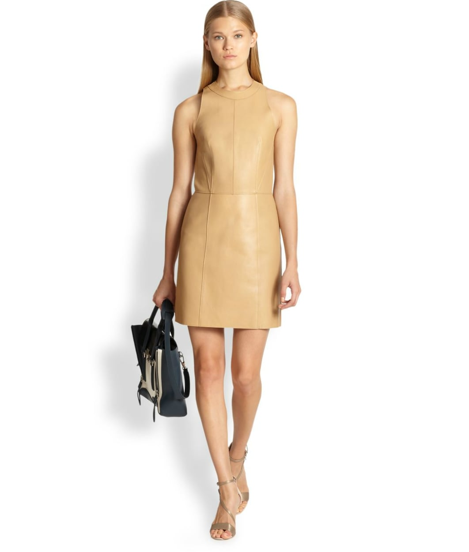 3.1 Phillip Lim Leather Dress