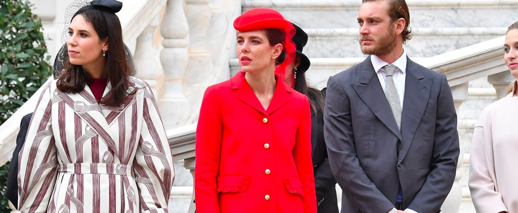 Charlotte Casiraghi Gucci Bag at Monaco National Day 2016