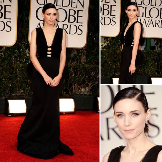 Rooney Mara at Golden Globes 2012