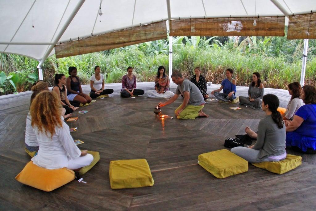 Silent Meditation in Bali