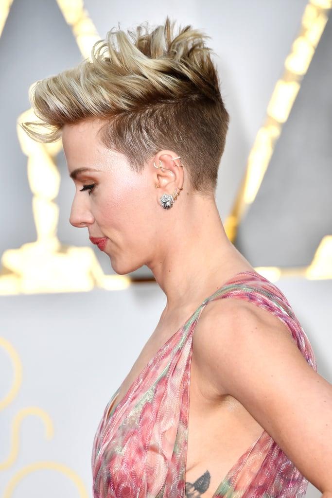 Scarlett Johansson at the 2017 Oscars