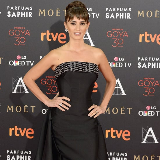 Penelope Cruz in Versace at Goya Awards 2016