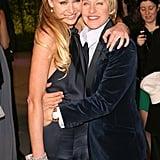 Ellen DeGeneres and Portia de Rossi PDA Pictures