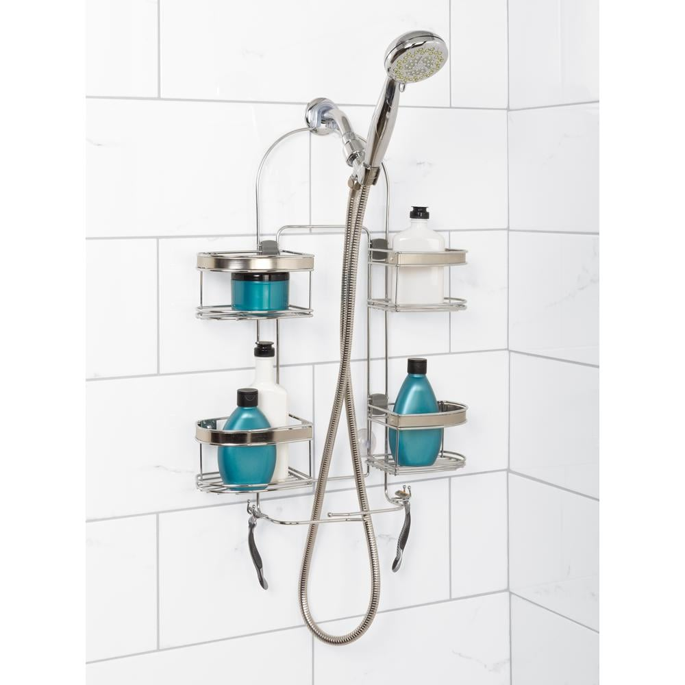 Zenna Home Premium Expandable Shower Caddy | What to Buy When Moving ...