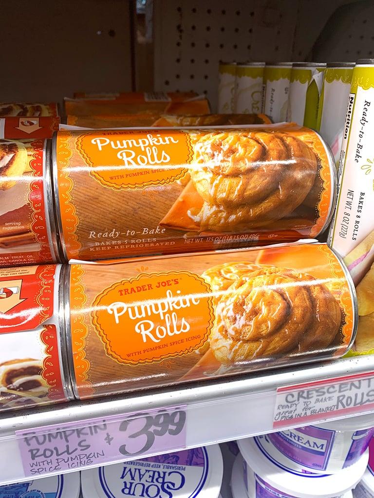 Pumpkin Rolls With Pumpkin Icing ($4)