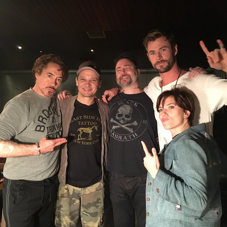 The Avengers Cast Get Matching Tattoos 2018 | POPSUGAR Celebrity Australia