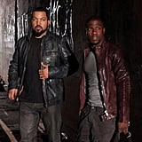 Ice Cube and Kevin Hart created movie magic on the set of Ride Along. Source: Instagram user kevinhart4real