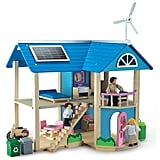 Eco-Friendly Wooden Doll House