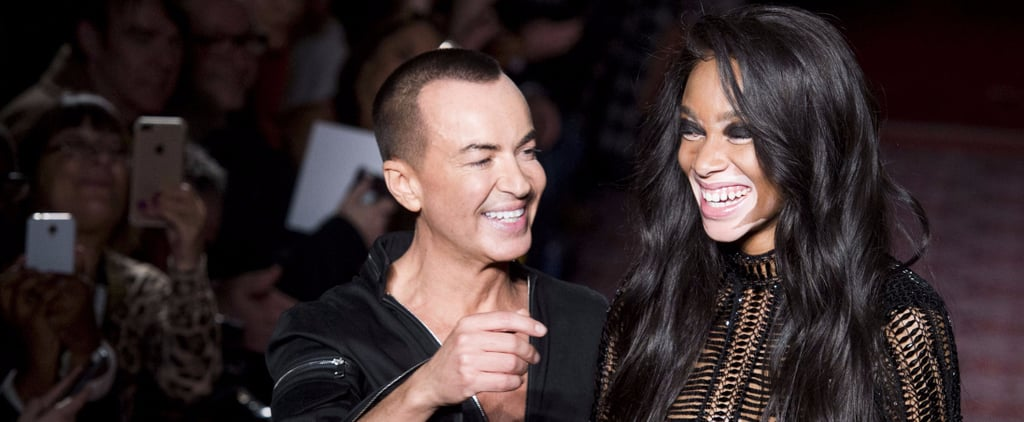 Julien Macdonald Has Us Wondering If We Can Borrow From the Boys?