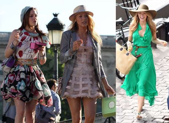 Pictures of Gossip Girl Filming in Paris