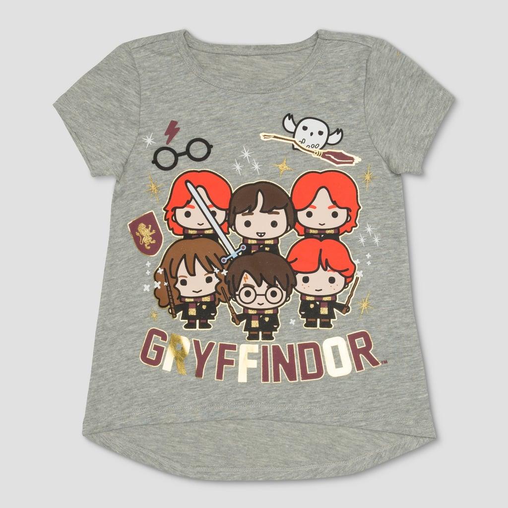 a22e0276b Harry Potter Gryffindor House Short Sleeve T-Shirt   Harry Potter ...