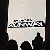 The lights dimmed on the Project Runway finale show!