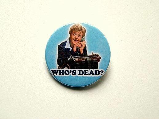 Murder She Wrote Pin