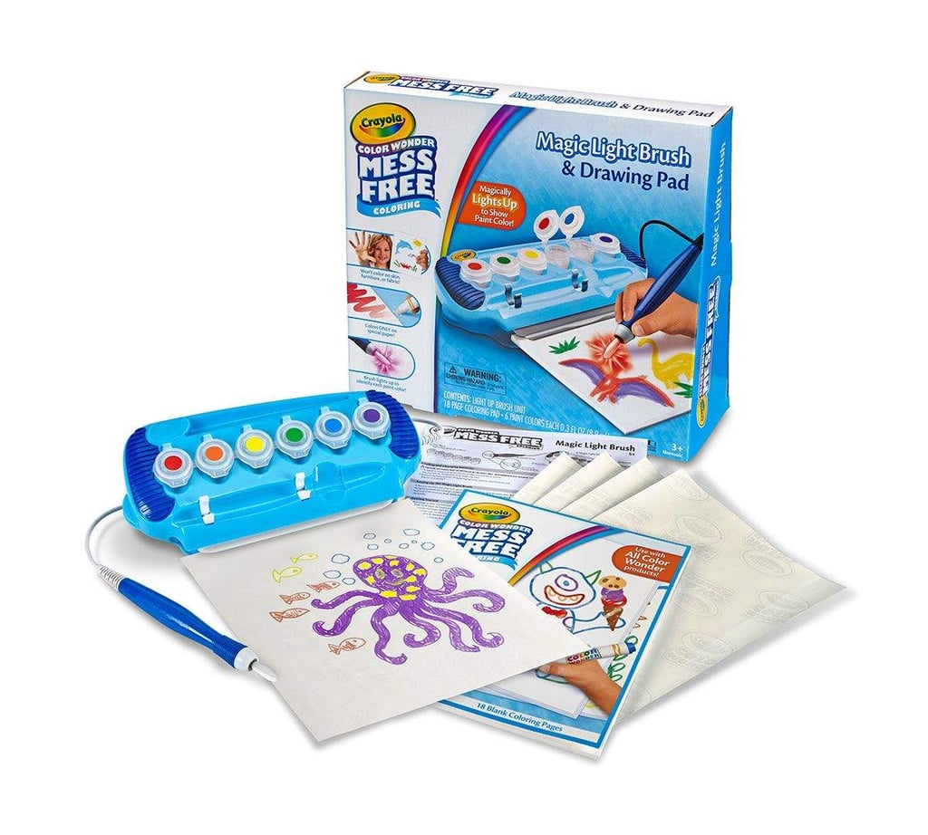 For 3-Year-Olds: Crayola Magic Light Brush and Drawing Pad