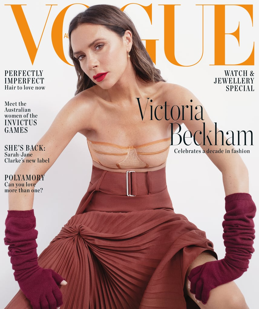 Do You Know What You Really Want Fluid Magazine: Victoria Beckham Vogue Australia Cover November 2018