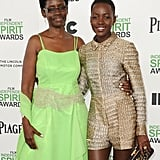 Lupita Nyong'o brought her mom, Dorothy, along as her date to the Independent Spirit Awards.
