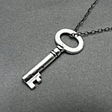 Mary Margaret Silver Key Necklace