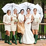Wellies For the Bridesmaids
