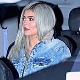 Kylie Jenner's Denim Jumpsuit November 2018